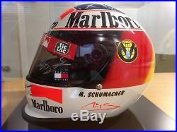 Michael Schumacher Signed F1 Motor Racing Helmet in presentation case