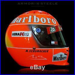 Michael Schumacher Signed Helmet Autographed Track Worn Visor 1999-2000 Bell K1