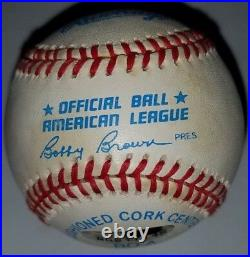 Mickey Mantle Signed Baseball UDA Autographed Upper Deck Authenticated #7 Insc