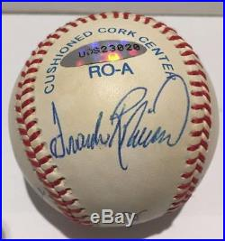 Mickey Mantle / Ted Williams +2 Signed Triple Crown Baseball UDA Upper Deck Auto