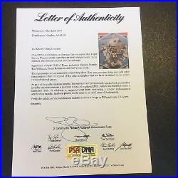 Mickey Mantle Ted Williams Carl Yastrzemski Triple Crown Signed 18x24 Photo PSA