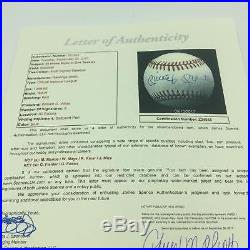 Mickey Mantle Willie Mays 50 Home Run Club Multi Signed Baseball With JSA COA