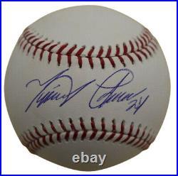 Miguel Cabrera Autographed/Signed Detroit Tigers OML Baseball JSA 26721
