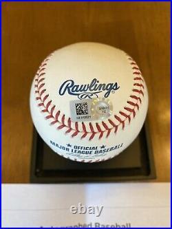 Mike Trout Full Name Signed Autographed Major League Baseball MLB COA