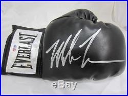 Mike Tyson Signed PSA/DNA Black Glove Sports Boxing Memorabilia