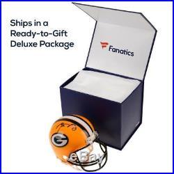 Mitchell Trubisky Chicago Bears Signed Riddell Speed Mini Helmet Fanatics