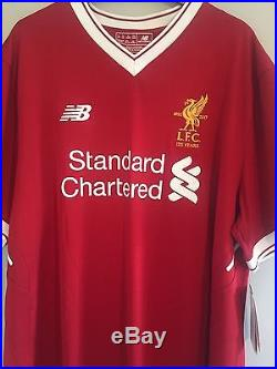 Mohamed Salah Signed Liverpool Shirt WITH PROOF First On The Market