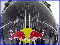 MotoGP RED BULL RACING CHRIS VERMEULEN PERSONAL CRASH HELMET HAND SIGNED