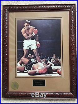 Muhammad Ali, Muhamad Ali, Mohamed Ali, Mohammed Ali signed picture