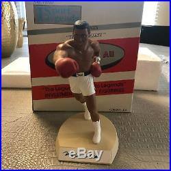 Muhammad Ali Signed Autographed Salvino Statue The Greatest With COA