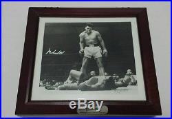 Muhammad Ali Signed Fossil watch set COA