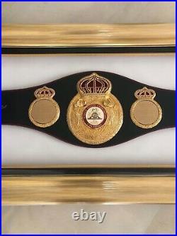 Muhammad Ali Signed WBA Belt