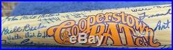 Negro League Legends Autographed BAT signed by 68, Irvin Radcliffe O'Neil 35D