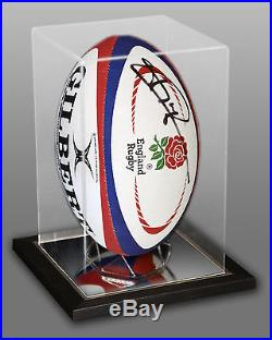 New Jonny Wilkinson Signed England Rugby Ball Presented In An Acrylic Case