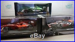 New f1 die cast cars 118 scale. 23 cars some signed + marlboro logo job lot