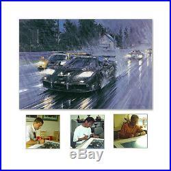 Nicholas Watts Le Mans 1995 McLaren GTR SIGNED By DALMAS, JJ LEHTO & SEKIYA