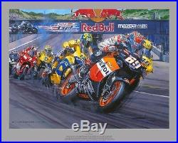 Nicky Hayden, HAND SIGNED Perfect Day by Nicholas Watts