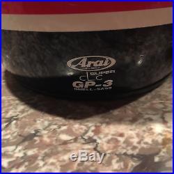 Nigel Mansell Formula 1 Indy 500 Arai Gp-3 Signed Helmet Set