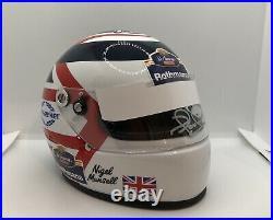 Nigel Mansell Signed 1994 Rothmans 1/2 Helmet