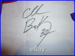 Nwt #34 Charles Barkley Champion Phoenix Suns White Authentic Signed Jersey 44