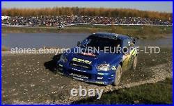 Official Subaru Impreza Wrc S9 Front Bumper S600 Wrt Signed Petter Solberg 2003
