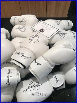 Officially Signed Anthony Joshua Signed Boxing Glove + COA