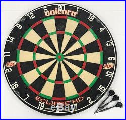 One Of a Kind Phil Taylor Gen 4 Proto-type Darts & Signed Dartboard