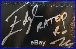 Original EDGE SPINNER BELT from WWE, signed by Edge & Lita