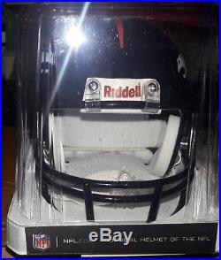 PEYTON MANNING signed DENVER BRONCOS Mini Helmet