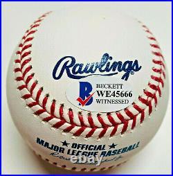 Padres Fernando Tatis Jr. Authentic Signed MLB Baseball Beckett BAS Witnessed