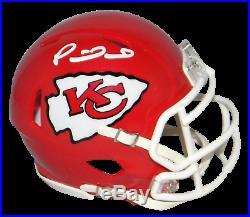Patrick Mahomes Signed Kansas City Chiefs Super Bowl LIV Speed Mini Helmet Jsa