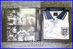 Paul Gascoigne Signed Shirt & Box
