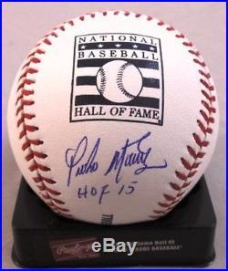Pedro Martinez Signed Autograph Baseball MLB Hologram HOF 15