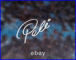 Pele Authentic Autographed Signed 16x20 Photo Cbd Brazil Beckett Bas 161518