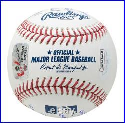 Pete Rose Cincinnati Reds Signed MLB Baseball 9x Inscriptions JSA