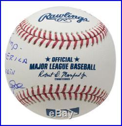 Pete Rose Signed President Mr. Trump Make America Great Again MLB Baseball JSA