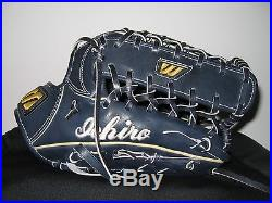 RARE ICHIRO SUZUKI Signed Rookie Era Mizuno Pro Autographed Glove withCOA HOF 3000