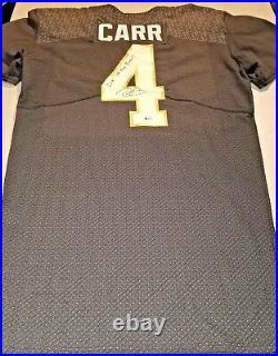 Raiders Derek Carr signed Game Issued 2015 Pro Bowl jersey PSA & Beckett COA's