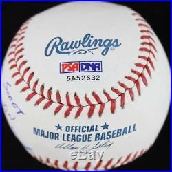 Reds Pete Rose'I'M Sorry I Bet On Baseball' Signed OML Baseball PSA/DNA ITP