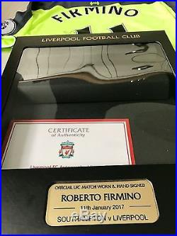Roberto Fimino Match Worn Signed Shirt