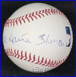 Ronald Acuna Autographed Signed FULL NAME Inscribed Baseball with JSA Witness COA
