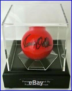 Ronnie O'Sullivan Signed Autograph Snooker Ball Display Case Sport PROOF & COA