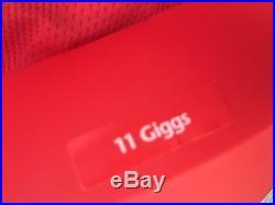 Ryan Giggs Signed Manchester United 2008 Home Shirt Autograph Man Utd COA Legend