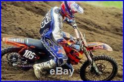 Ryan Hughes Signed Jersey Supercross Motocross Tomac Roczen Dungey Redbull Ktm