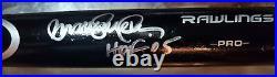 Ryne Sandberg Signed Rawlings Pro Baseball Bat JSA
