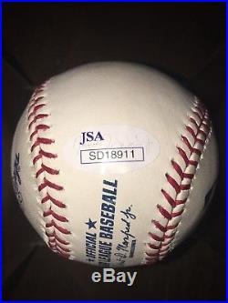 SHOHEI OHTANI signed auto MLB Baseball JSA COA