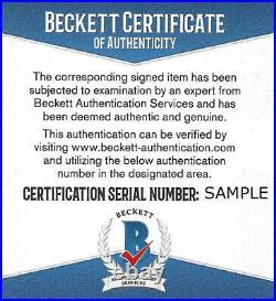 San Francisco 49ers Joe Montana Autographed Signed Red Jersey Beckett 126242
