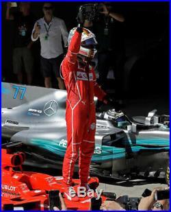 Sebastian Vettel 2018 Used & Signed Puma Race Boots Ferrari F1