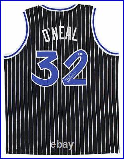 Shaquille O'Neal Authentic Signed Black Pro Style Jersey Shaq Diesel BAS