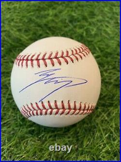 Shohei Ohtani Los Angeles Angels Signed Baseball ROMLB Auto MLB Auth